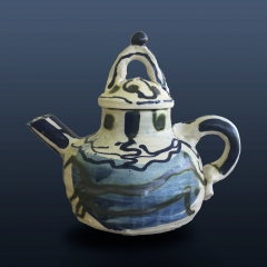 Straight talking teapot