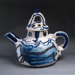 Straight talking teapot