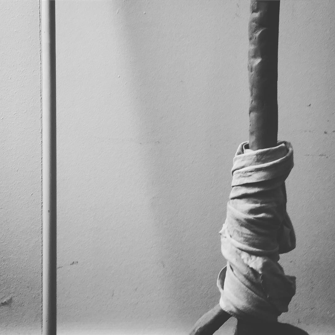 """The true secret of happiness lies in taking a genuine interest in all the details of daily life."" Can you tell what it is yet? Working on this for life improvement #form and #function #art #sculpture #ceramics #handmade"